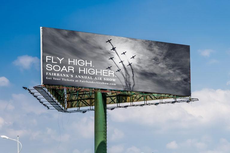 Fairbanks Air Show Billboard
